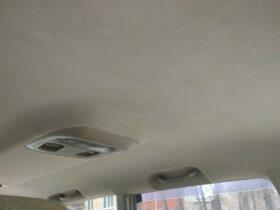 Чистка потолка авто